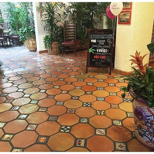 octagon saltillo floor tile