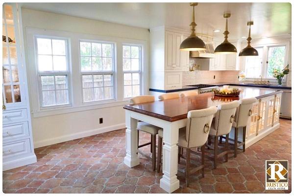 terracotta kitchen tile